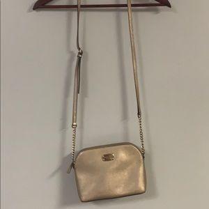 Michael Kors crossbody bag gold